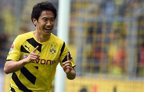 Shinji Kagawa dù đã từng được đánh giá rất cao ở câu lạc bộ Dortmund.