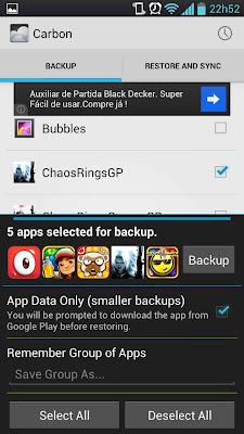 Faça Backup dos dados e aplicativos do seu Android e passe para outro aparelho sem precisar de root 5