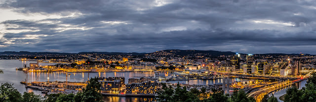 Oslo Norway Panorama