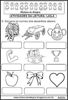 Livro Mistura de Alegria alfabetização