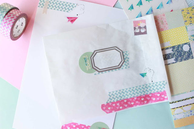 Semana del Snail mail: crea tu propio set de papelería