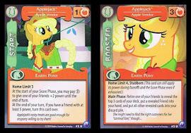 My Little Pony Applejack, Apple Vendor Canterlot Nights CCG Card