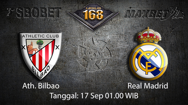 Prediksi Bola Jitu Ath. Bilbao vs Real Madrid 17 September 2018 ( Spanish La Liga )