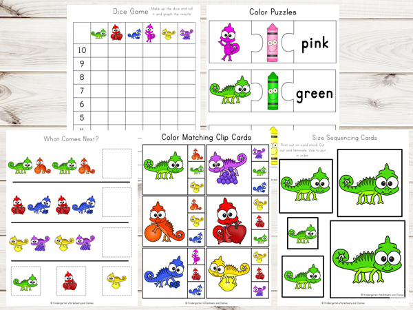 kindergarten-worksheets-colors-graphing-clip-cards-size-sequencing