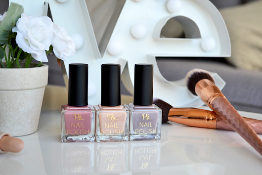 Primark's Trio Nail Varnishes in 'Nudes'