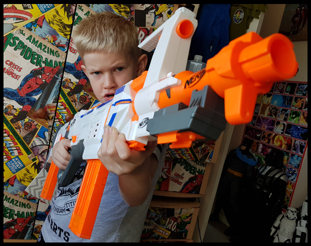 Time for Nerf Wars
