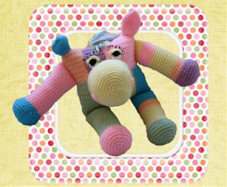 canterly clop clop crochet amigurumi mare pattern