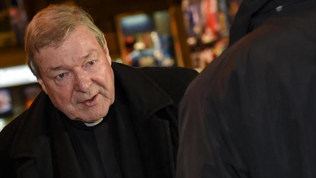 Australia investiga pedofilia del ministro del Vaticano