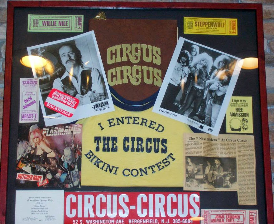 The Circus formally Circus Circus rock club in Bergenfield, New Jersey