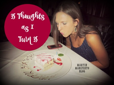 35 Life Lessons on My 35th Birthday