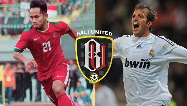 Bali United Incar Van Der Vaart dan Andik Vermansyah