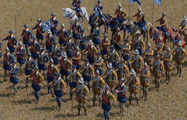 Renaissance army 3D models