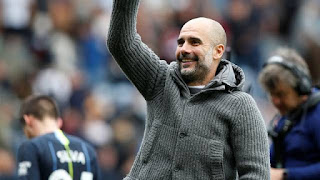 Guardiola durante Burnley x Manchester City (Foto: Reuters)