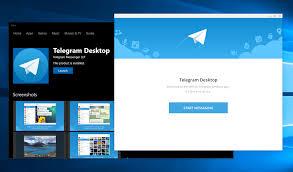 unduh software Telegram Desktop