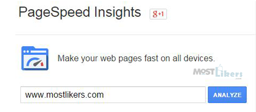 Analyze and optimize your website with google PageSpeed tools