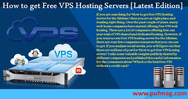Best Free VPS Hosting Servers [Latest Edition]