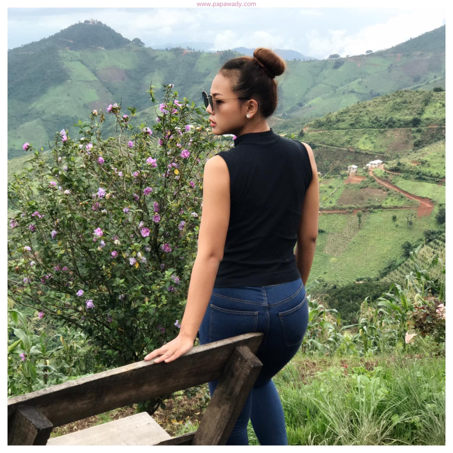 Nang Khin Zay Yar Fashion And Travel Snaps In Kalaw