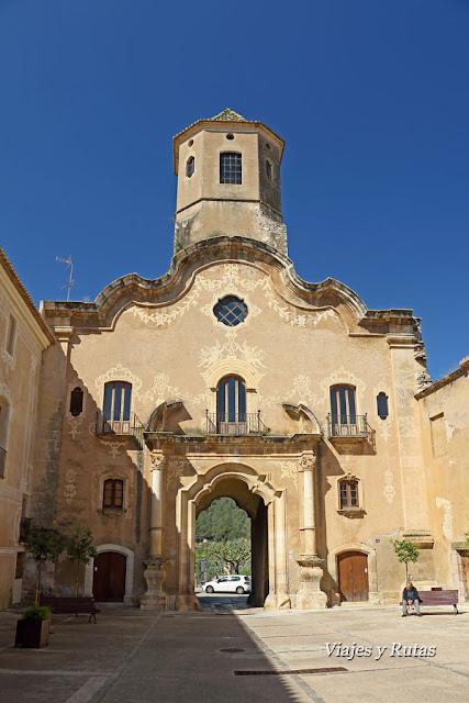 Puerta de la Asunción, Santes Creus