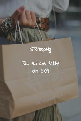 #Shopping - Eu fui aos Saldos em 2019 Compras na C&A, na Belissima, na Primark e na Women'Secret