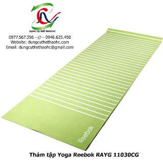 Thảm tập Yoga Reebok RAYG 11030CG