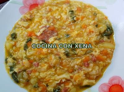 Sopa A La Riojana, En Thermomix