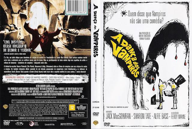 Capa DVD A Dança dos Vampiros
