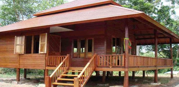 rumah kayu kuno
