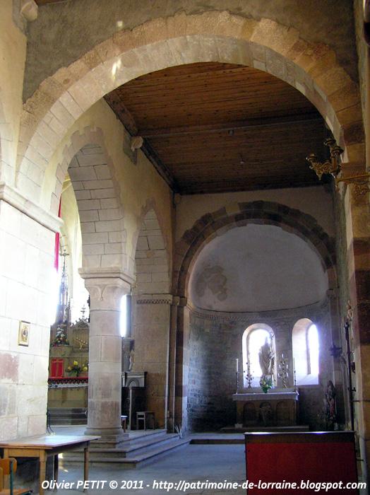 MARSAL (57) - La collégiale Saint-Léger (Intérieur)