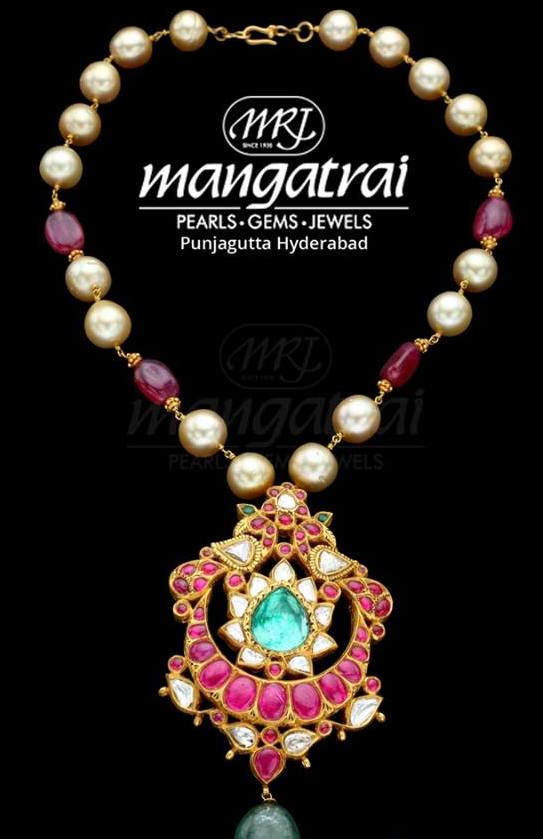 Simple Beads Set by Mangatrai Neeraj