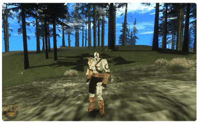 GTA San Andreas God of War Mod Download Free
