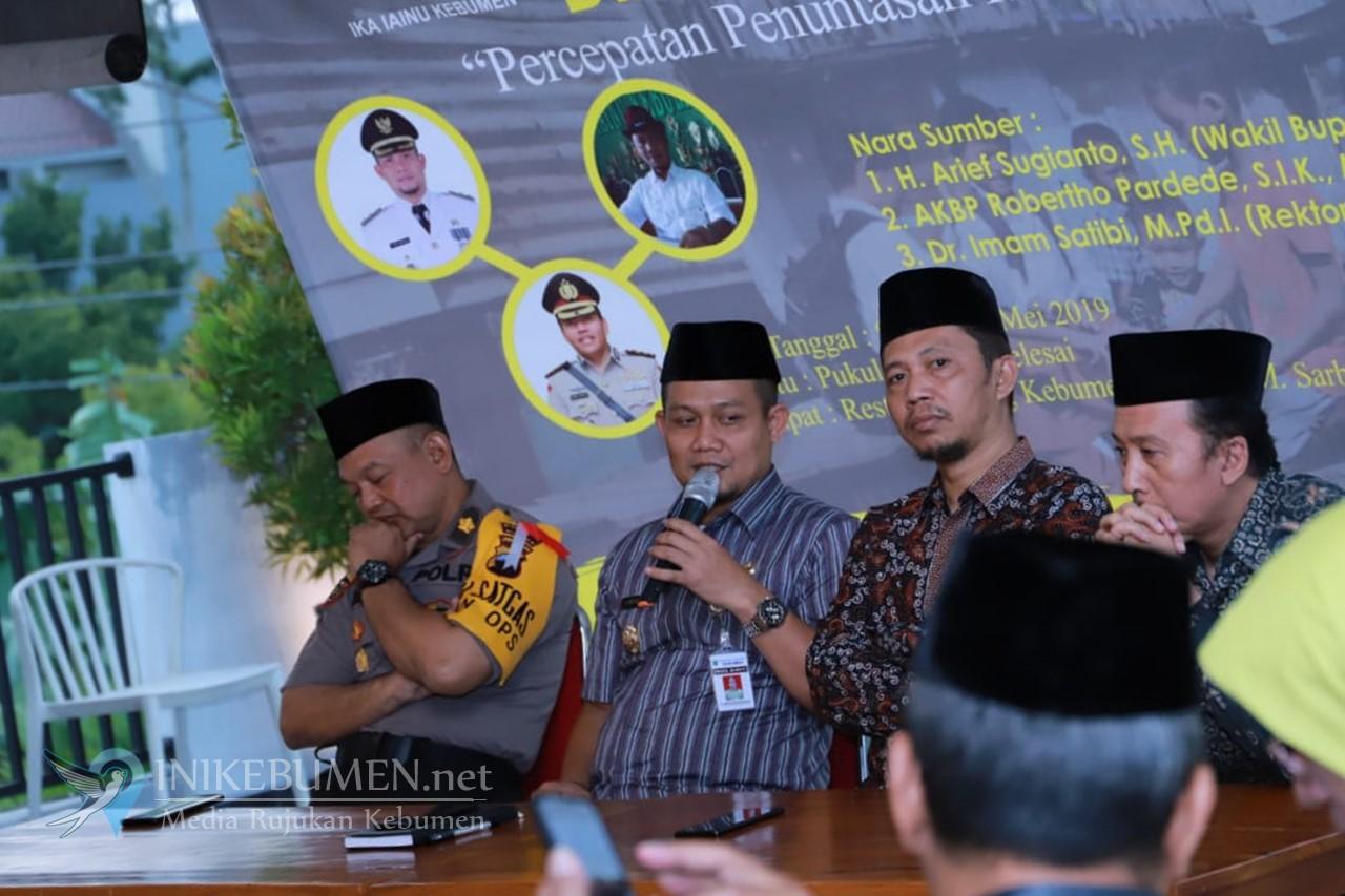 Jadi Narsum Dialog Kebumen Bangkit, Arif Sugiyanto Sebut Perlu Sinkronisasi Data Kemiskinan