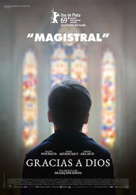 GRACIAS A DIOS - Poster pelicula españa