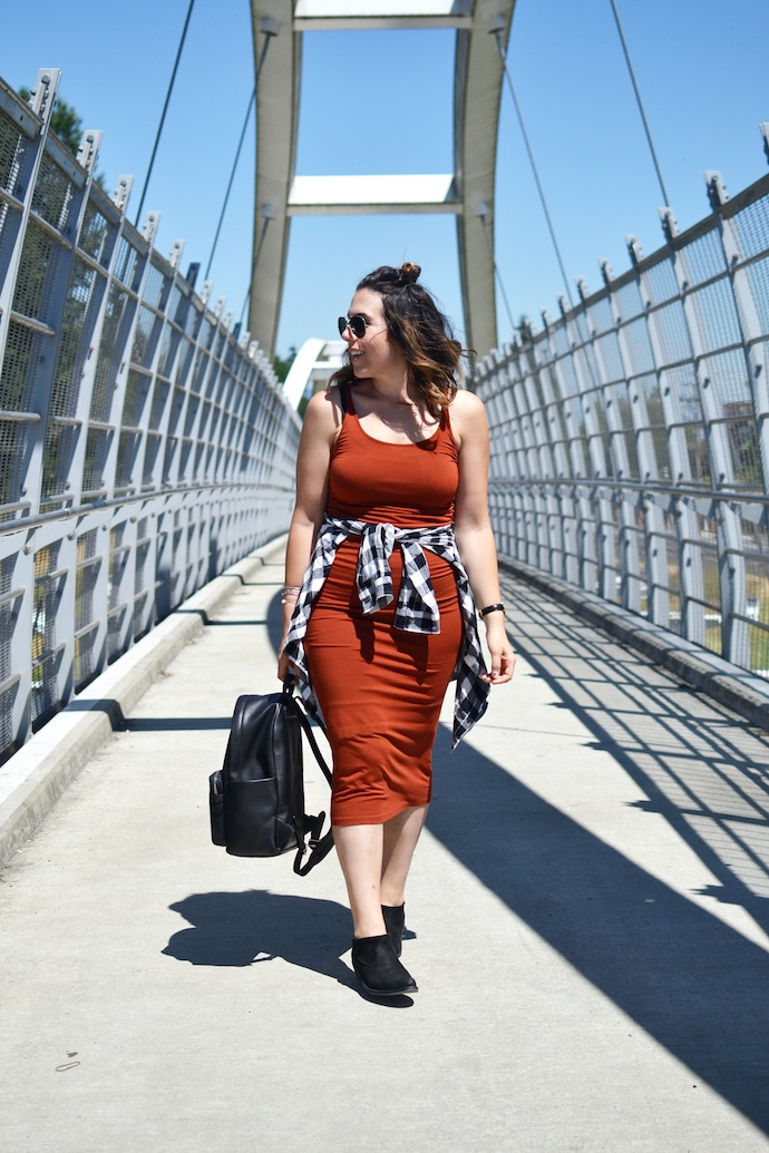 Babaton Freddie dress Aritzia summer outfit 90s style inspiration