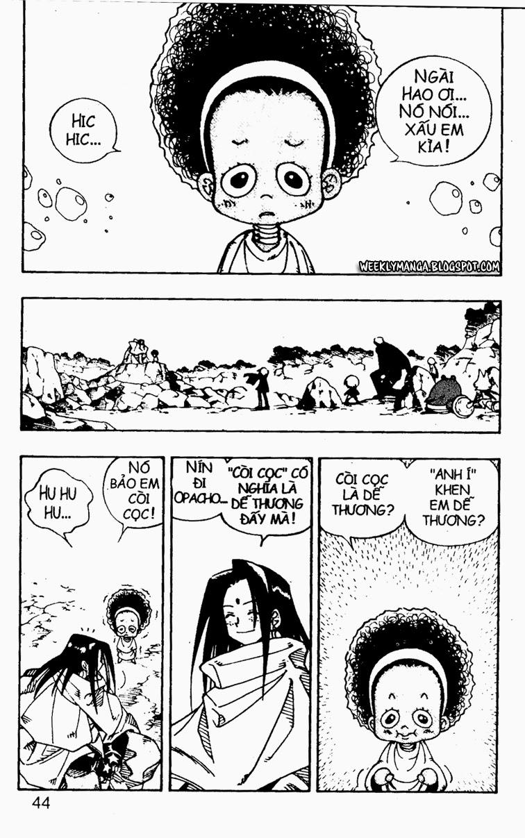 Shaman King [Vua pháp thuật] chap 106 trang 5