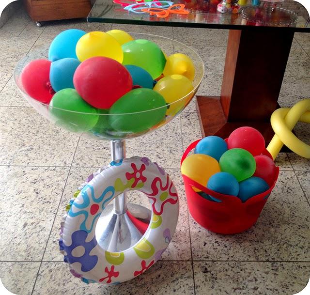 Brincadeiras para Festa na Piscina
