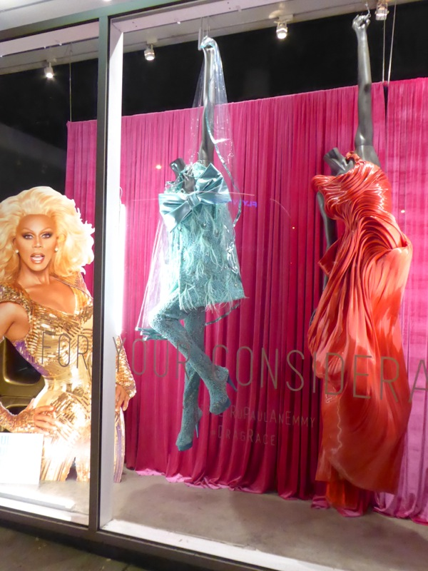 Emmy-nominated RuPauls Drag Race judging gowns