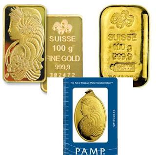 Emas PAMP Suisse, Investasi Emas Elegan Produksi Swiss