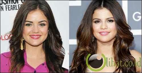 Lucy Hale - Selena Gomez
