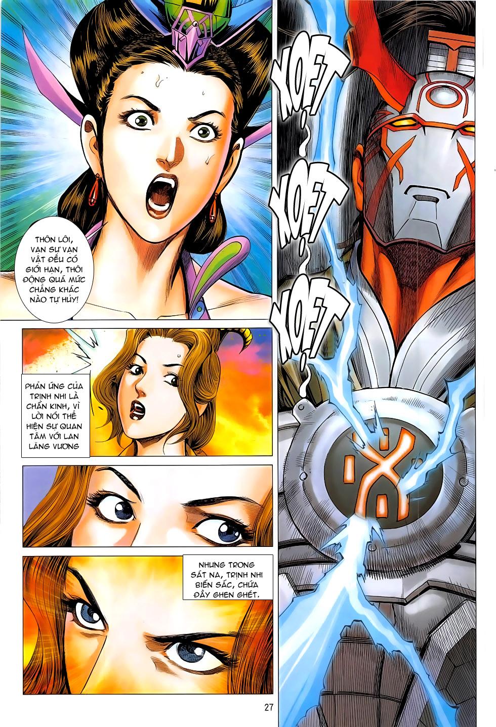 Chiến Phổ chap 19 - Trang 27