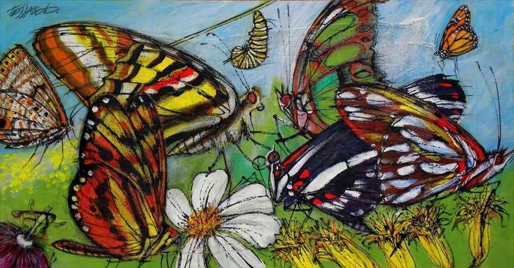 cuadros-de-mariposas