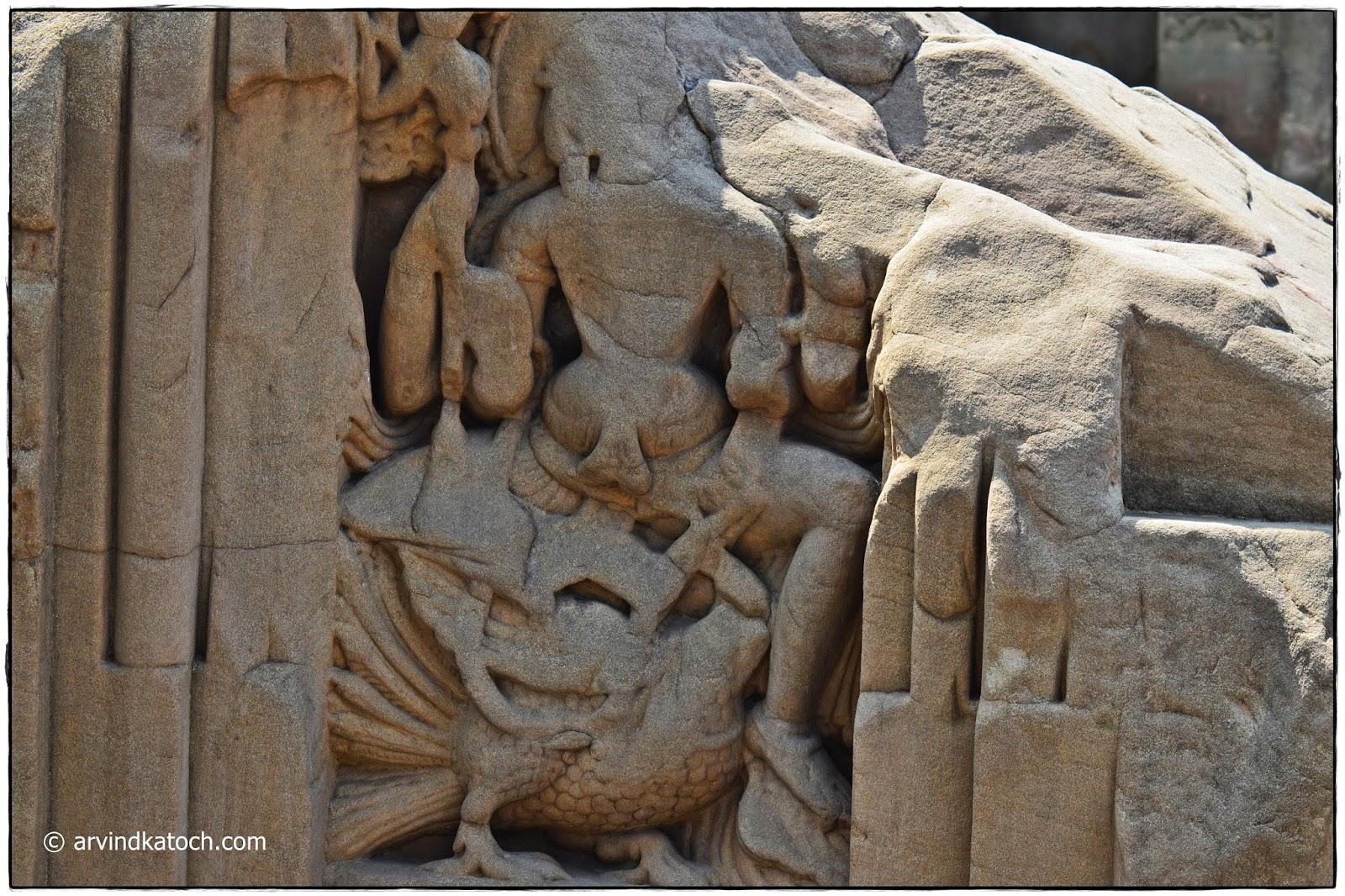 Masroor Rock Cut Temples,