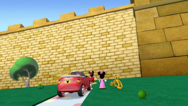 MICKEY MOUSE: Whoa! That's a great wall, all right!
