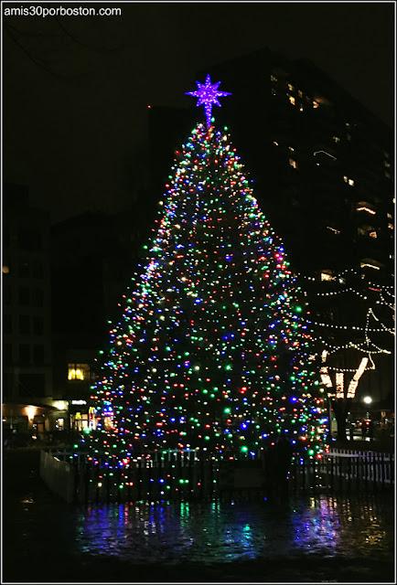 Árbol de Navidad en el Boston Common