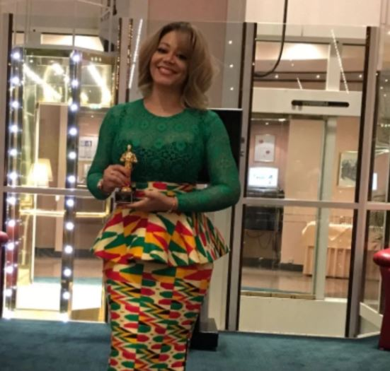 Nadia Buari Gains International Recognition Wins Best Actress Award In Germany