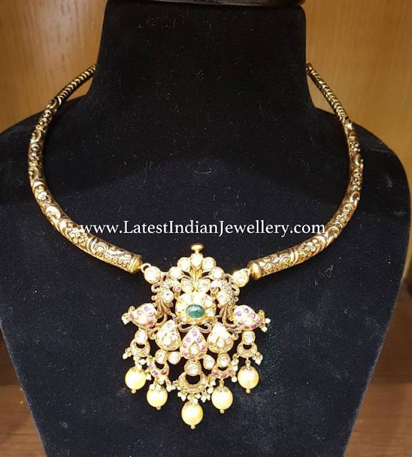 Simple Kante Necklace from Balaji