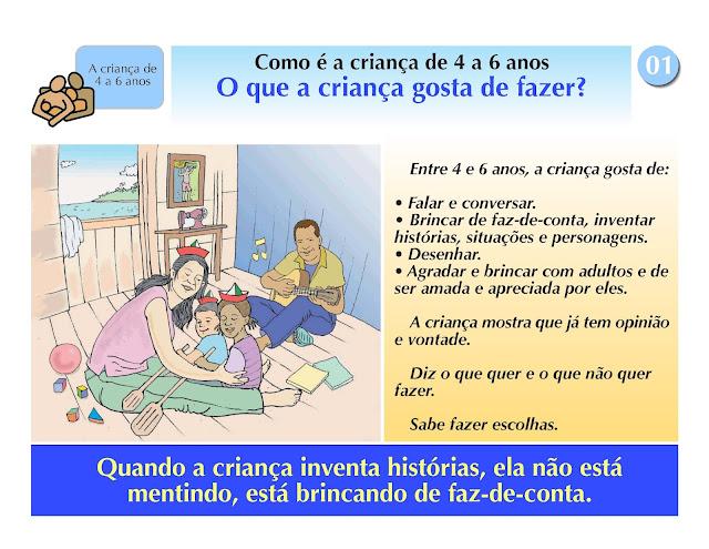 desenvolvimento infantil 4 a 6 anos