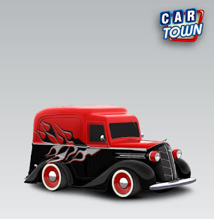 Dodge Panel Pickup 1936 Flame by Funkylion