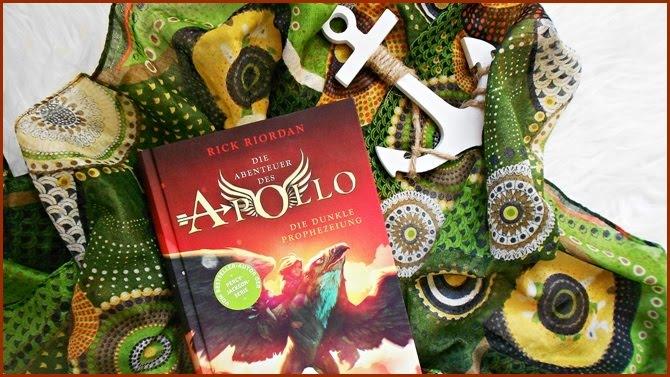 Rezension Die Abenteuer des Apollo Die dunkle Prophezeiung Rick Riordan