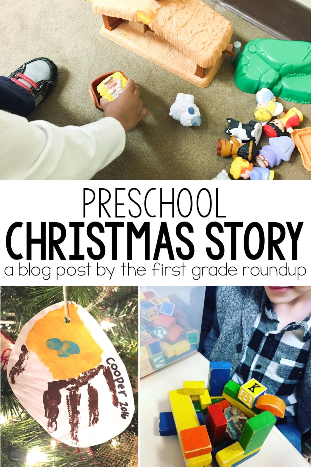 Christmas Story For Preschoolers.The Christmas Story With Preschoolers Firstgraderoundup