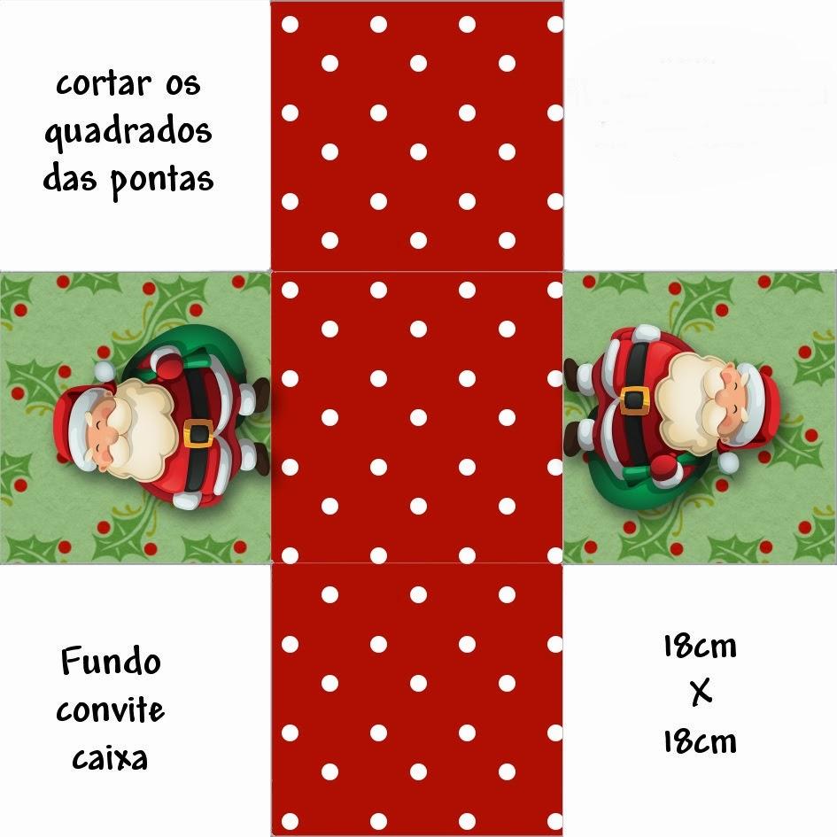 Vania Arte Com Amor Caixinha De Natal Moldes